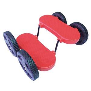 Planche d'équilibre Rolla Bolla à 4 roues
