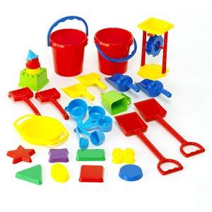 30 jeux pour le sable en plastique