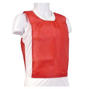 Dossard en nylon rouge
