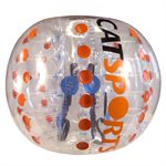 Bulle de soccer-bulle, 1,2m, orange