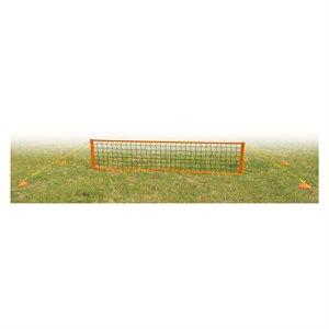 Filet et poteaux de soccer / tennis portables JR