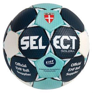 Ballon de handball Select Solera, mauve / vert, #0