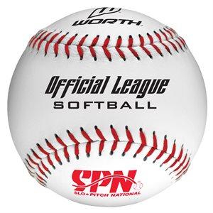 12 Balles de softball, .44 COR, liège