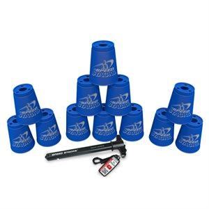 12 gobelets Speed Stacks, bleus