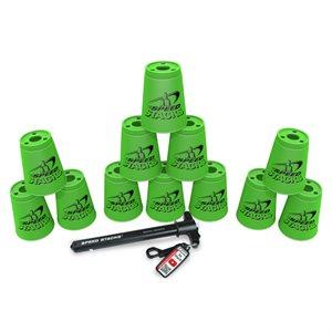 12 gobelets Speed Stacks, verts
