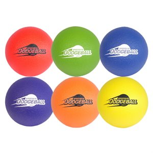 6 ballons en mousse Speedskin