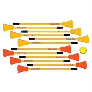 """12 bâtons de ballon balai 36"""""""