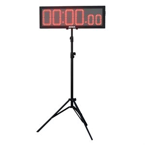 Jumbo LED display timer with 8 1 / 4 inch digits