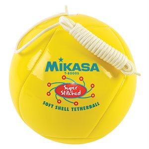 Ballon de tetherball, revêtement matelassé