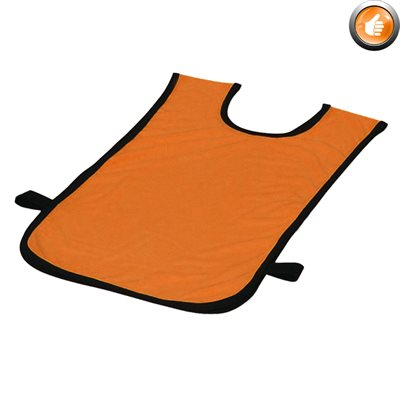 Dossard en polyester, 2-5 ans, orange