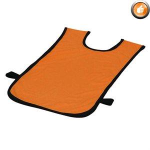 Dossard en polyester pour 2-5 ans, orange