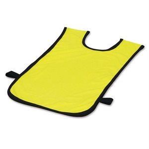 Dossard en polyester, 2-5 ans, jaune
