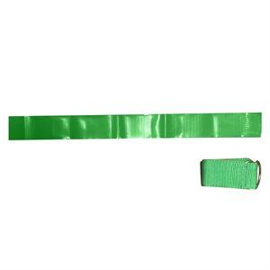 12 ceintures-fanions en nylon vert