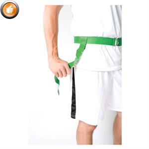 Ens. de 24 ceintures-fanions en nylon