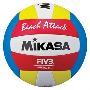 Ballon de volleyball de plage Mikasa Beach Attack