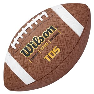 Ballon de football Wilson TDY cuir composite, #9
