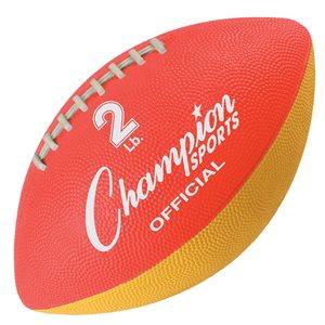 Ballon d'entraînement de football lesté