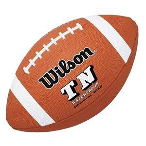 Ballon de football de caoutchouc Wilson TN