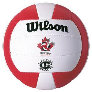 Ballon volleyball de plage Wilson Canada Replica
