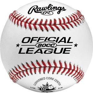 Balle de baseball en cuir Rawling