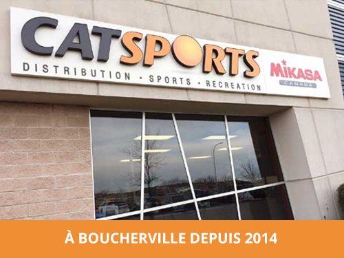 À Boucherville depuis 2014